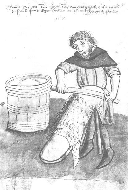 Leerlooier middeleeuwen